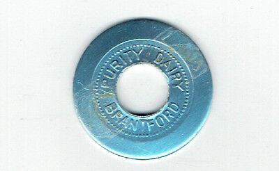 Purity Dairy Good for 1 Quart of Jersey Milk Token - Brantford, Ontario