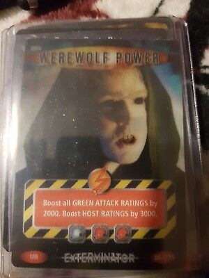 "Doctor Who Battles In Time Exterminator - Ultra Rare ""Werewolf Power"" Card #086"