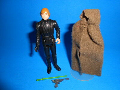 Star Wars Vintage Kenner 1983 Luke Skywalker Jedi Knight No Coo ~ With Weapons