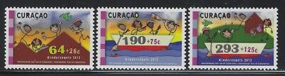 Curacao 2012 Year of Cooperatives set Sc# B5-7 NH