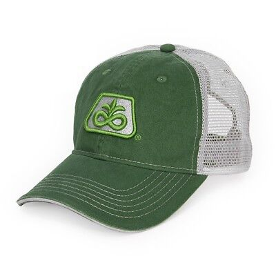 PIONEER SEED *GREEN & SILVER MESH* Trademark Logo CAP HAT *BRAND NEW* PS11