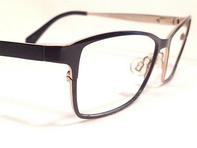 ef7e8e0022d Kenneth Cole KC206 005 Women s Black   Gold Rx Eyeglasses Frames 55 16~135