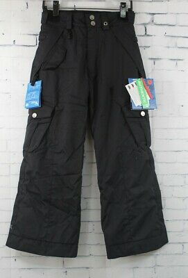New Youth Boys 686 Smarty Cargo Snowboard Pants Large Black