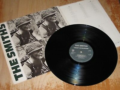 The Smiths Meat Is Murder UK/France LP rare! previously undocumented variation!