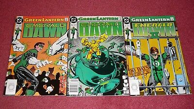 GREEN LANTERN LOT - 11 books, various GL series (DC, 1990-2006) NR!