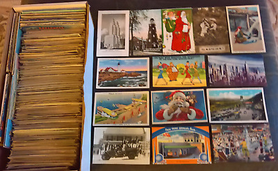 GREAT US & Topical Postcard   Lot 750 PCs!!  NO CHROME!