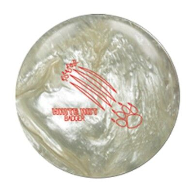 15lb 900 Global WHITE HOT BADGER Pearl Reactive Bowling Ball