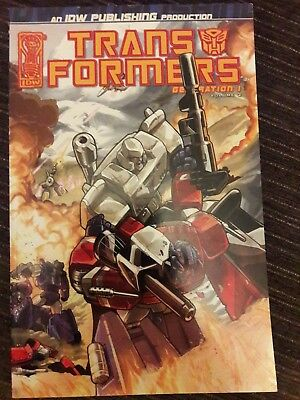 Transformers Generation 1: War And Peace graphic novel/TPB complete series
