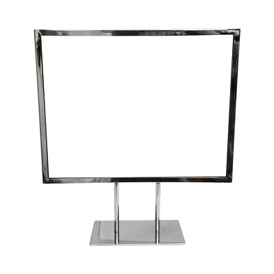 14-1/4'' x 11-1/4'' Counter Cardframe Display Clothes Rack Fixture Sign Holder