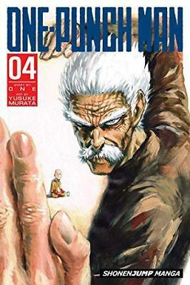 One-Punch Man Volume 4, Very Good Condition Book, ONE, ISBN 9781421569208