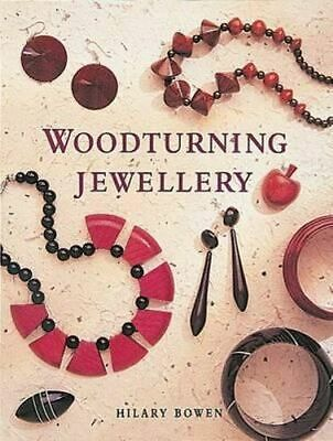 NEW Woodturning Jewellery By Hilary Bowen Paperback Free Shipping