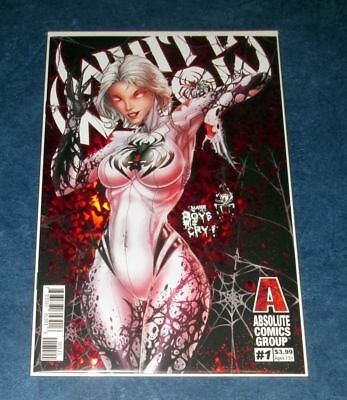 WHITE WIDOW #1 B RED FOIL holographic variant 1st print  RED GIANT COMIC 2019 NM