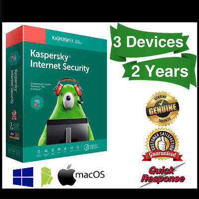 Kaspersky Internet Security 2019 3 Devices 2 Years For Windows PC