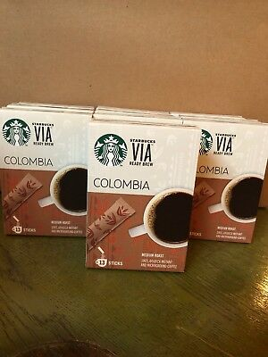 Starbucks Colombia VIA Instant Coffee 130 Packets