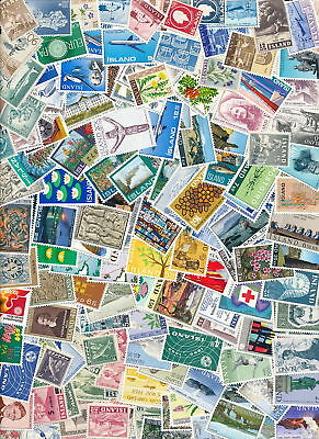 Iceland 200 Different MNH.