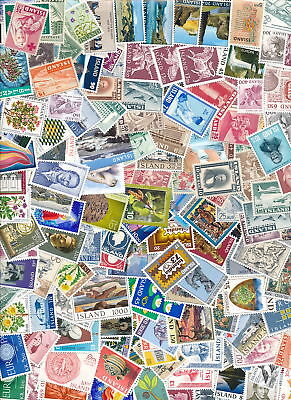 Iceland 300 Different MNH.