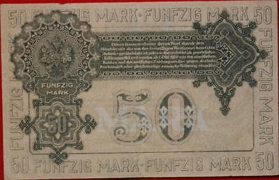 1919 Russia Western Army 50 Rubles Note P-S230