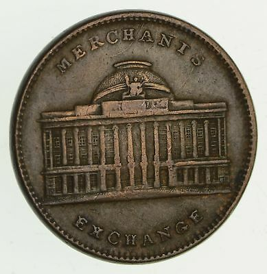 1800s United States Hard Times Token New York Joint Stock Exchange *347