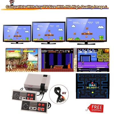 Mini Retro Classic Family TV Game Console Built-in 620 Video Games 2 Controllers