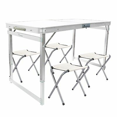 New Folding Table Heavy Duty Trestle Camping Party Picnic BBQ Stall Garden