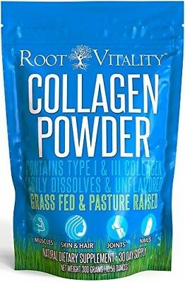Root Vitality Collagen Powder, Collagen Peptides, Grass Fed, Premium Quality Col