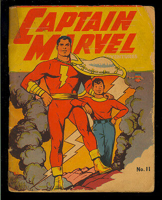 Captain Marvel Mighty Midget Comics #11 Golden Age Fawcett Shazam 1942 FR-GD