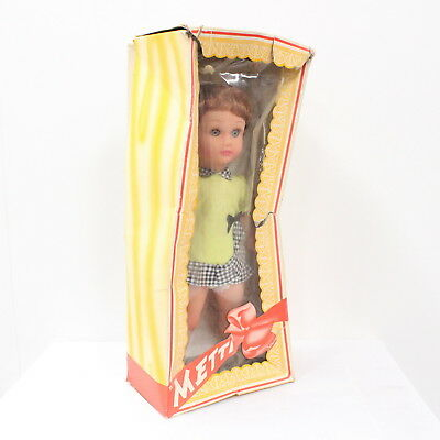 """Vintage Metti """"Kathy"""" All-Vinyl Doll with Sleeping Eyes and Washable Hair #452"""