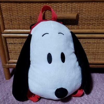 SNOOPY Kids' Plush Doll Backpack from Japan