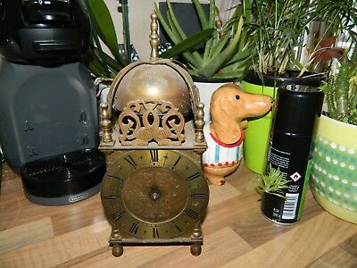 Smiths Lantern Clock Case Electric