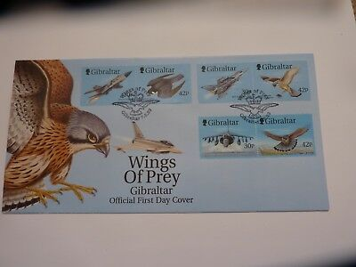 Gibraltar Wings of Prey 1999 FDC