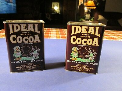 Vintage Ideal Dutch Process Cocoa Can