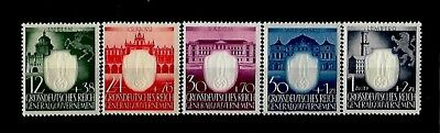 Germany Third Reich Stamps General Government Mi 105-109 MNH