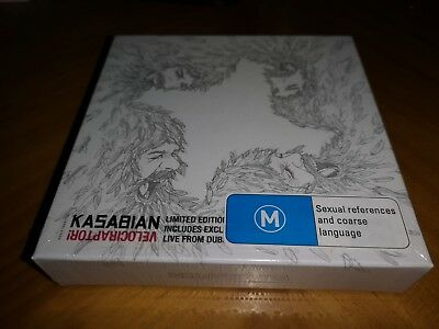 Kasabian - Velociraptor! [Limited Deluxe CD & DVD) Explicit [PA] New & Sealed