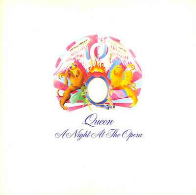 Queen A Night At The Opera RARE UK Vinyl with embossed gatefold sleeve