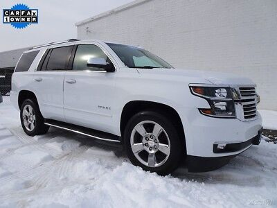 2017 Chevrolet Tahoe Premier 2017 Chevrolet Tahoe Premier SUV Used Certified 5.3L V8 16V Automatic 4WD