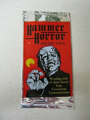 Hammer Horror Series Two Empty Trading Card Wrapper             Abc
