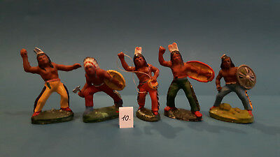 10.Indian.Cowboys.Masse Figur DDR..zu Elastolin.Hopf.Fischer.Lisanto..SEHR GUT