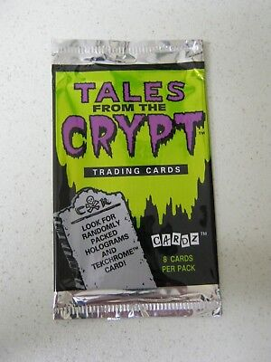 Tales From The Crypt Empty Trading Card Wrapper             Abc