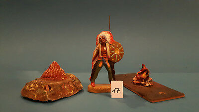 17.Indian.Cowboys.Masse Figur DDR..zu Elastolin.Hopf.Fischer.Lisanto..SEHR GUT