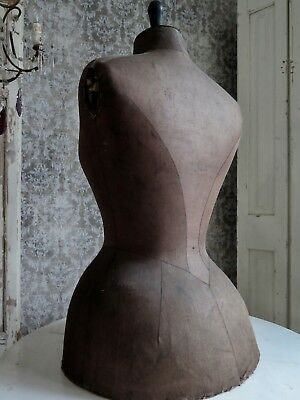 French antique 1800s  Mannequin bustle dress form dummy -  Antik Schneiderpuppe