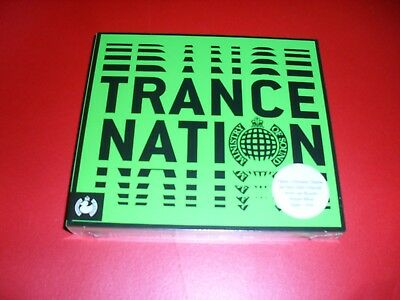 Ministry Of Sound Trance Nation 3 Cd Set New Out Sealed .