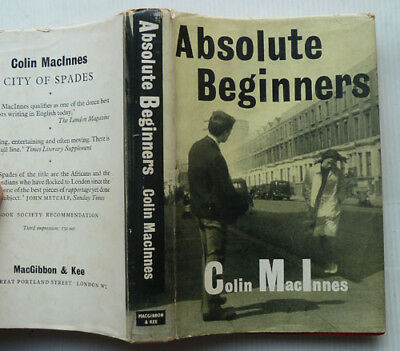 Absolute Beginners By Colin Mac Innes, 1960  7Th