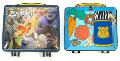 Zootopia Lunch Box Flash, Nick, Judy, Bellwether Bogo LE 1500 Artist Proof pin