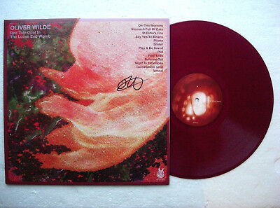 OLIVER WILDE * Red Tide Opal.. PURPLE, NUMBERED LP 2014