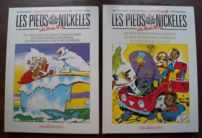 PIEDS NICKELÉS collection intégrale 2 Albums 1990 tome 2 ,18