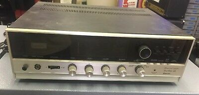 Vintage Sansui Solid State 350 Stereo Receiver for parts or repair