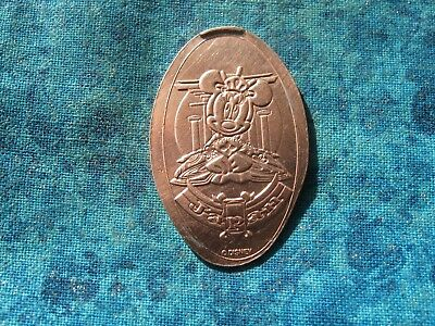 DISNEY JAPAN MINNIE MOUSE Elongated Penny Pressed Smashed 27