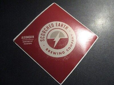 SCORCHED EARTH BREWING Crypt Keeper illinois STICKER decal craft beer brewery