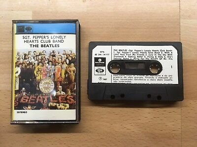 The Beatles - Sgt Pepper's Lonely Hearts Club Band cassette tape Spanish Stereo