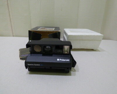 Vintage Polaroid Spectra System Special Edition Instant Camera In Box